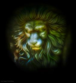 Lion at Tivoli Village