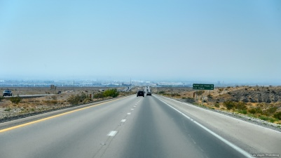 Southbound 15 freeway