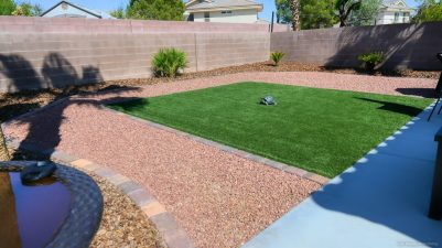 My backyard, whoo hoo!