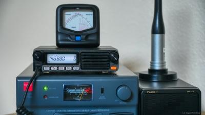 Yaesu Radio and Diamond Power Supply