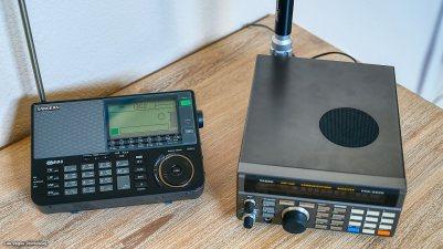 Sangean and Yaesu FRG-9600 VHF/UHF Receiver